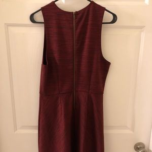 Cooperative Maroon Dress